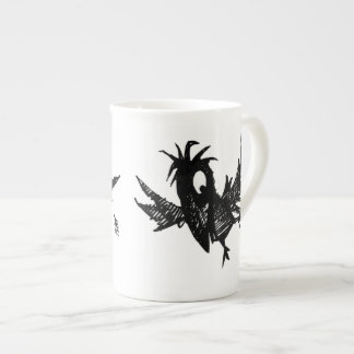 Black Crow Porcelain Mugs