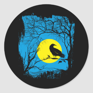 Black Crow Sticker