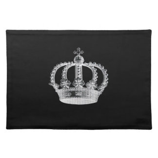 Black Crown A Placemats 20 x 14