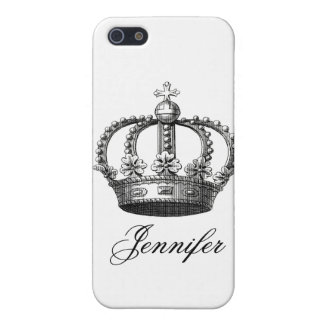 Black Crown iPhone 5/5S Covers