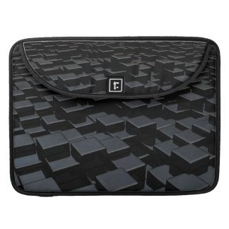 Black cube world Macbook Pro Flap Sleeve