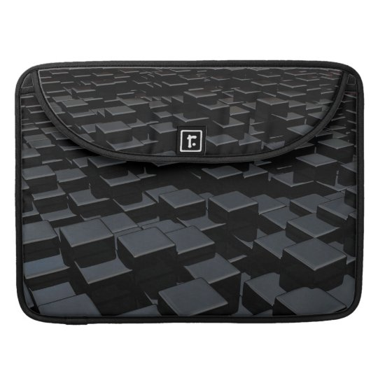 Black cube world Macbook Pro Flap Sleeve Sleeve For MacBooks