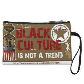 Black Culture not a Trend cell phone pouch Wristlet Clutch