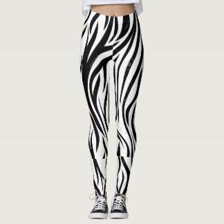 Black Curved Leggings