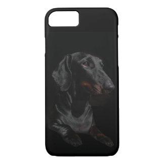 black dachshund iPhone 8/7 case