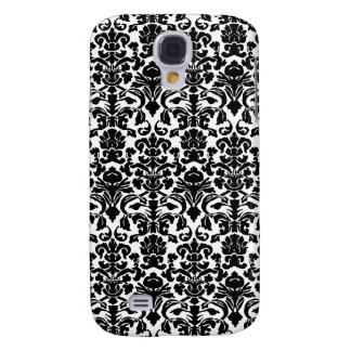 Black damask galaxy s4 case
