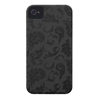 Black Damask iPhone 4/4S Case