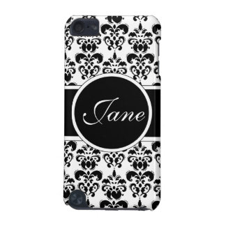 black damask iPod touch 5G cover