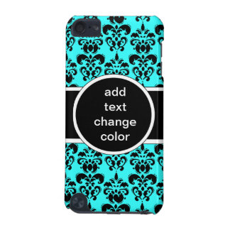 black damask on any color iPod touch (5th generation) case