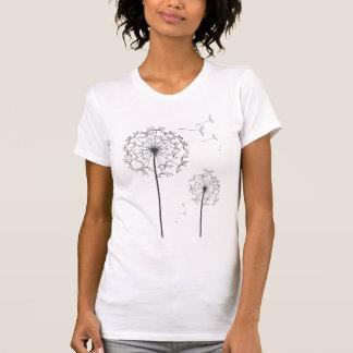black dandelion T-Shirt