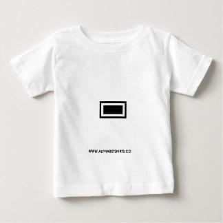 Black Dash/ Hyphen Baby T-Shirt