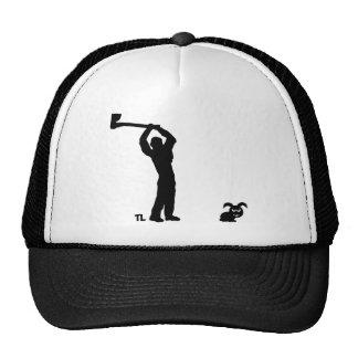 black dead bunny - lumberjack cap