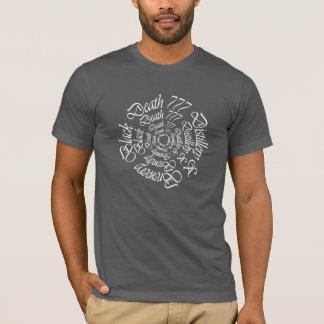 Black Death 777 - Circles T-Shirt