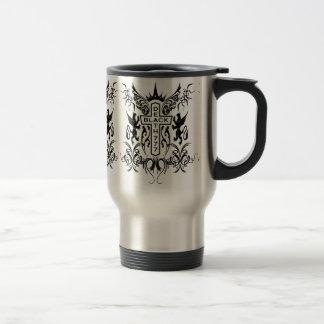 Black Death 777 - Cross Stainless Steel Travel Mug