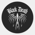 Black Death 777 - End of Season Classic Round Sticker