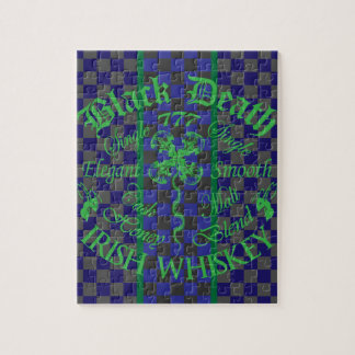 Black Death 777 - Honey Irish Whiskey Jigsaw Puzzles