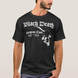 Black Death European Tour T-Shirt