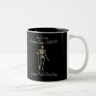 Black Death European Tour Two-Tone Mug