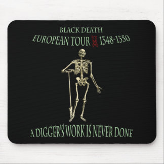 Black Death World Tour Original Design Mouse Mat