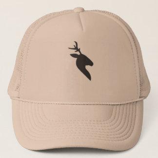 Black deer's head Trucker Hat