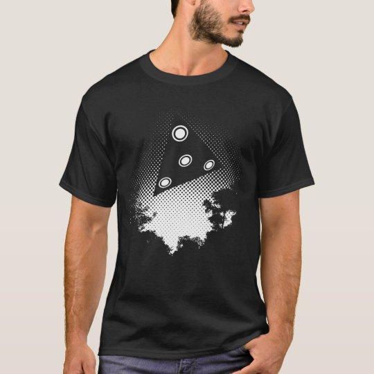 black delta UFO T-Shirt