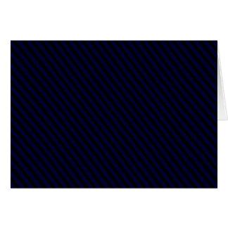 Black Diagonal Line Note Card