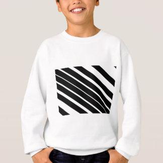 Black diagonal stripes.gif sweatshirt