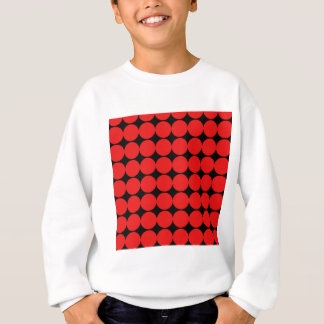 BLACK DIAMOND AND RED CIRCLES SWEATSHIRT