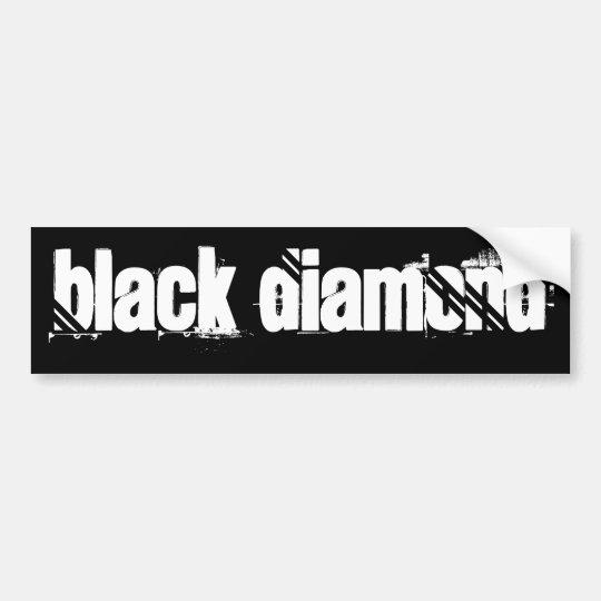 BlAcK DiAmOnD Bumper Sticker
