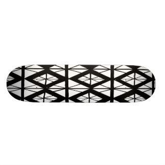 Black Diamond Deck 21.3 Cm Mini Skateboard Deck