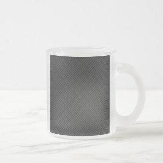 Black Diamond Plate Patterned Mugs