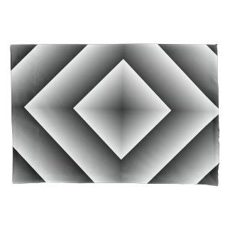 black diamond Single Pillowcase, Standard Size Pillowcase