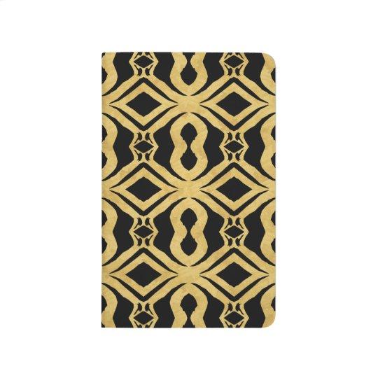 Black Diamonds Gold Decorative Designer Journal