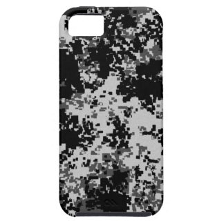 Black Digital Camouflage iPhone 5 Case