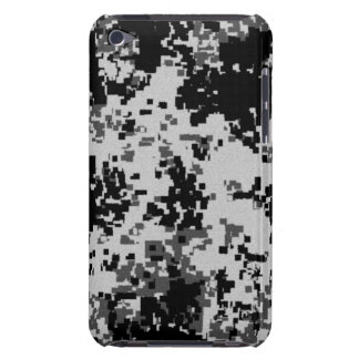 Black Digital Camouflage iPod Touch Case