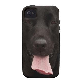 Black dog Case-Mate iPhone 4 cases
