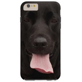 Black dog tough iPhone 6 plus case