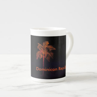 black Dominican Republic mug