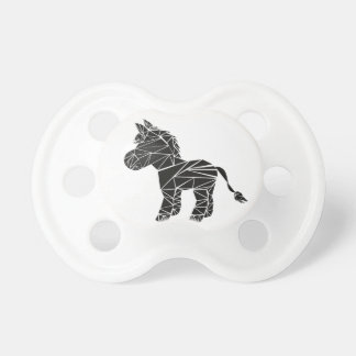 Black donkey baby pacifier