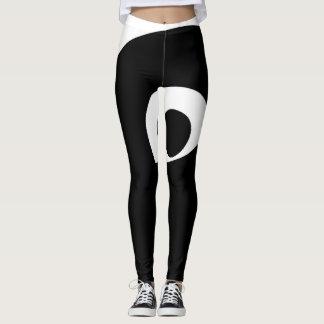 black dot leggings