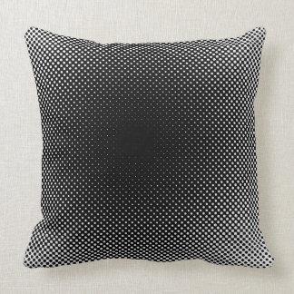 Black Dots Minimal Pillow