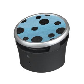 Black Dots On Blended SkyBlue Speaker