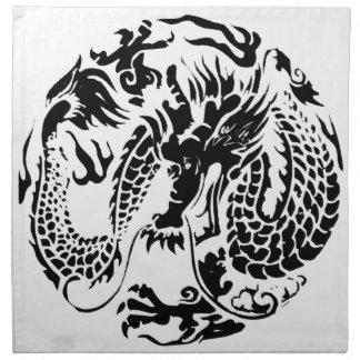 Black Dragon American MoJo Napkin