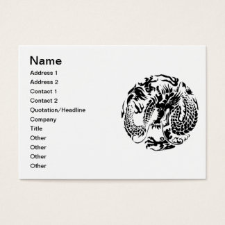 Black Dragon Business Card
