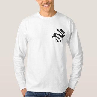 Black Dragon Embroidered Shirt