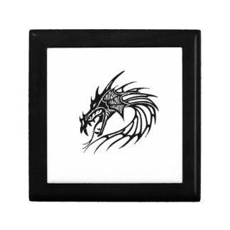 Black dragon gift box