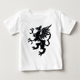 Black dragon Heraldry Baby T-Shirt