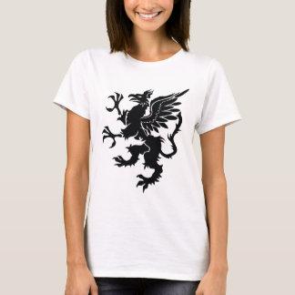 Black dragon Heraldry T-Shirt