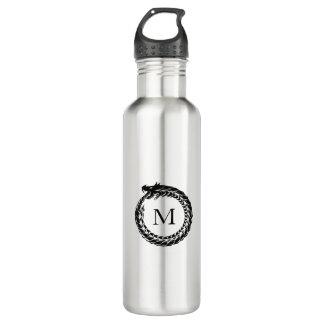 Black Dragon Monogram 710 Ml Water Bottle