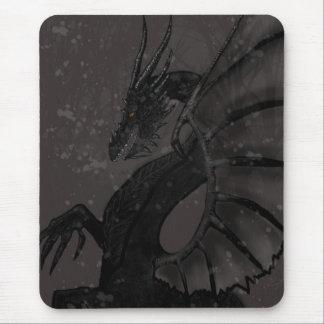 Black Dragon Mouse Pad